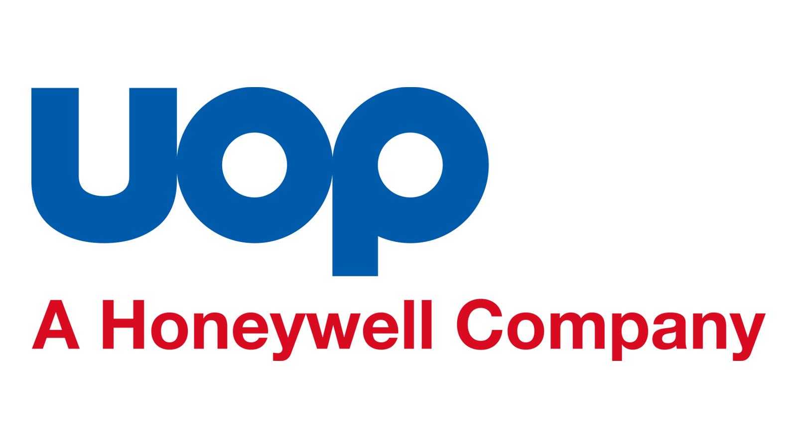 Uop A Honeywell Company Logo